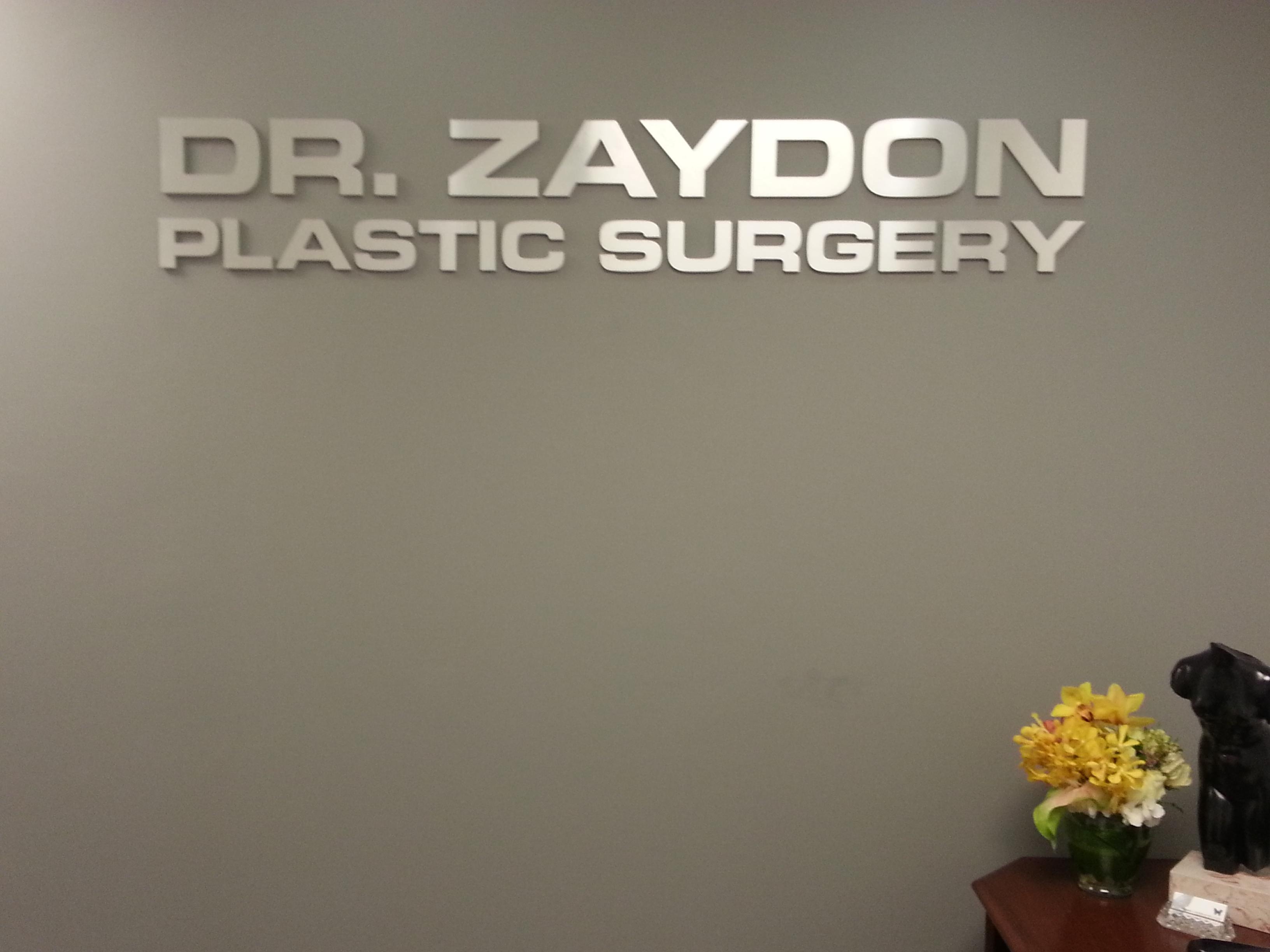 dr zaydon plastic surgery