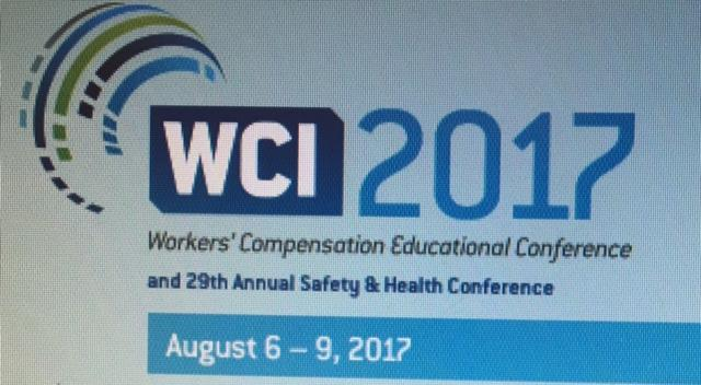 Dr ZAYDON WCI 2017 - Workers' Compensation Educational Conference in Orlando, August 6-9, 2017