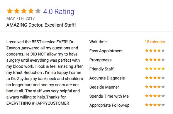 may 2017 - Dr. Zaydon Reviews