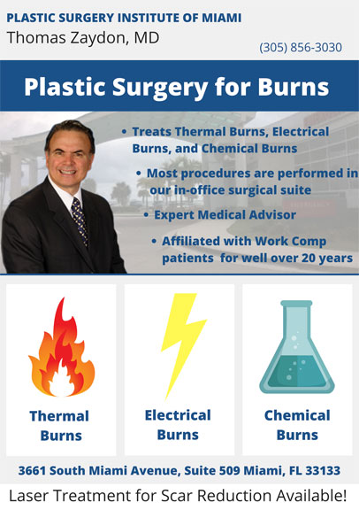 Plastic Surgery for Burns Poster